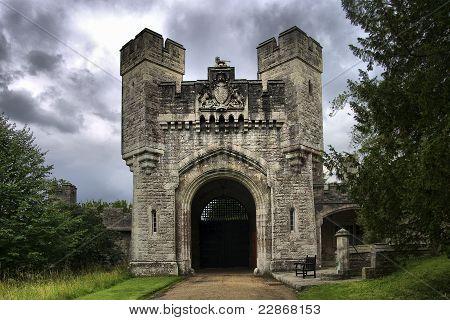 puerta al castillo de Arundel
