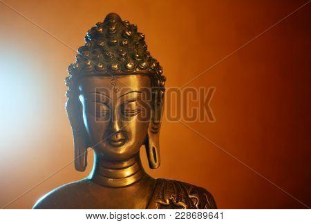Copper statuette of Buddha Buddhas