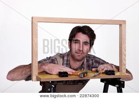 Male framer