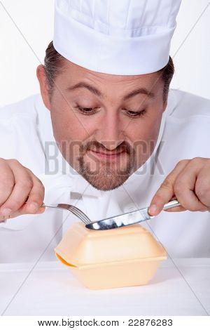 chubby, chef