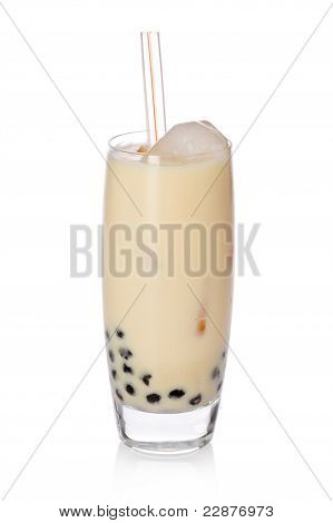 Banana Boba Tea
