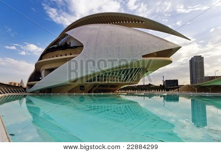 The City Of Arts And Sciences Valencia, Spain