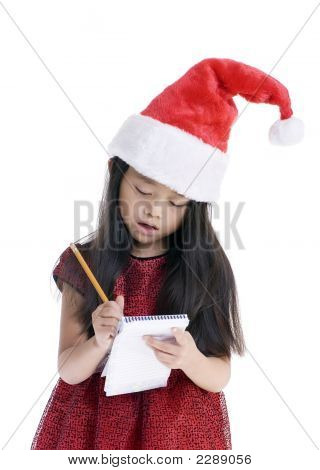 Ready For Christmas Making A List