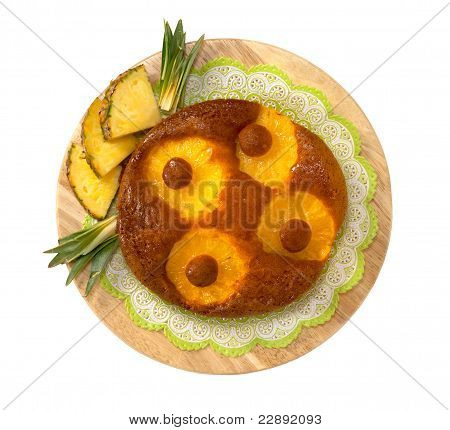 Cake with pineaple
