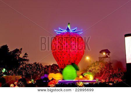 A Festive Lantern Show In Miaoli, Taiwan,february 26