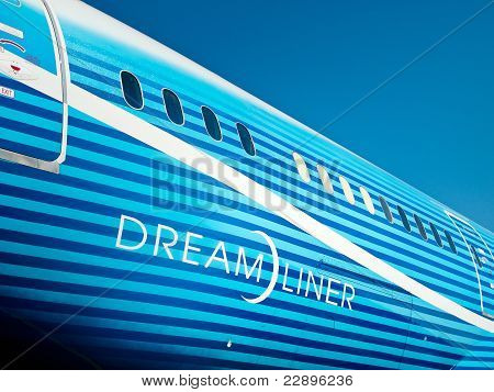 Fuselage Of 787 Boeing Dreamliner