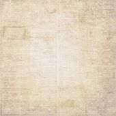 Vintage Old Newspaper Texture Background. Blurred Vintage Newspaper Background. A Blur Unreadable Ol poster