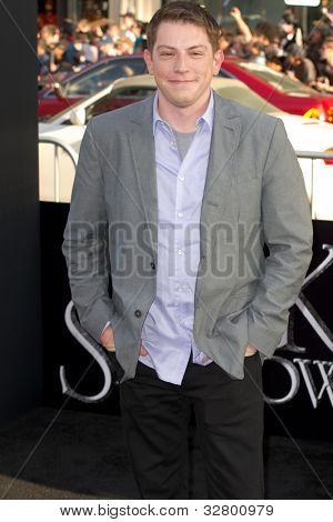 HOLLYWOOD, CA - MAY 7: Screenwriter Seth Grahame-Smith arrives at the premiere of the Warner Bros. Pictures Dark Shadows on May 7, 2012 in Hollywood, California.