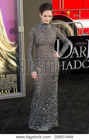 HOLLYWOOD, CA - MAY 7: Actress Eva Green arrives at the premiere of the Warner Bros. Pictures Dark Shadows on May 7, 2012 in Hollywood, California.