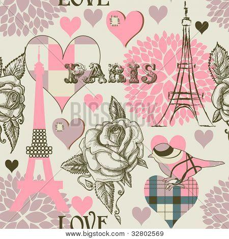 Padrão sem emenda de Paris