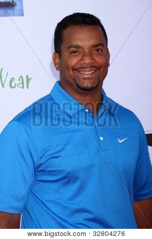 LOS ANGELES - MAY 7:  Alfonso Ribeiro arrives at the 5th Annual George Lopez Celebrity Golf Classic at Lakeside Golf Club on May 7, 2012 in Toluca Lake, CA