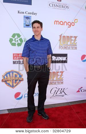 LOS ANGELES - MAY 7:  Brian Dietzen arrives at the 5th Annual George Lopez Celebrity Golf Classic at Lakeside Golf Club on May 7, 2012 in Toluca Lake, CA