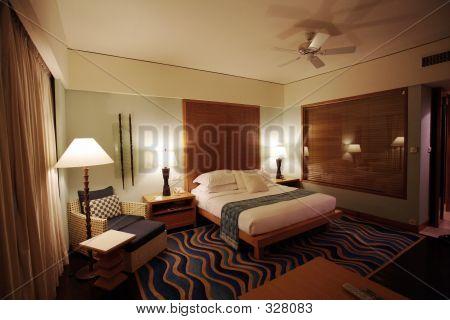 Five Stars Hotel Bedroom