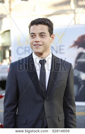 LOS ANGELES - JUN 27: Rami Malek arrives at the Premiere of Universal Pictures' 'Larry Crowne' at Grauman's Chinese Theatre on June 27, 2011 in Los Angeles, California