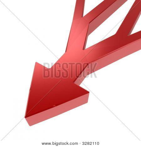 Branching Arrow