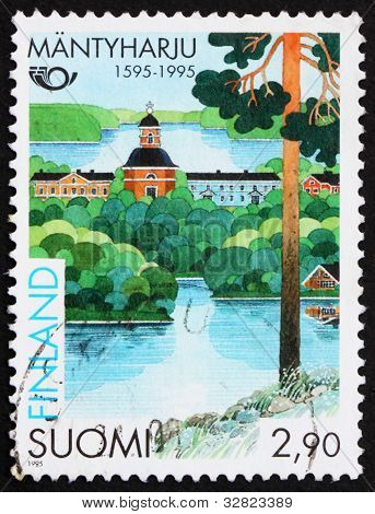 Postage stamp Finland 1995 Town of Mantyharju, Finland