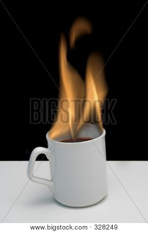 Flaming Hot Coffee