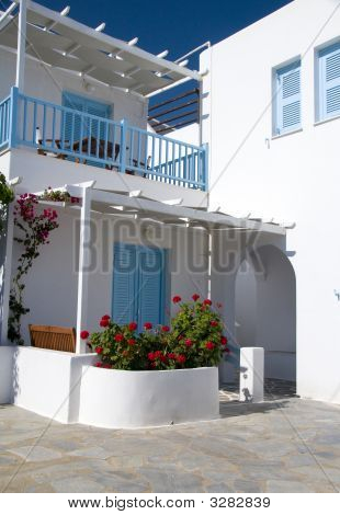 Cyclades Greek Architecture Guest House Motel Hotel
