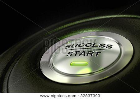 successful decision maker concept