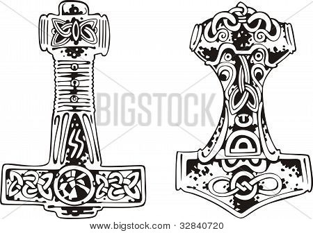 Thor's hammers