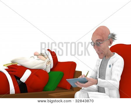 Santa At The Psychologist
