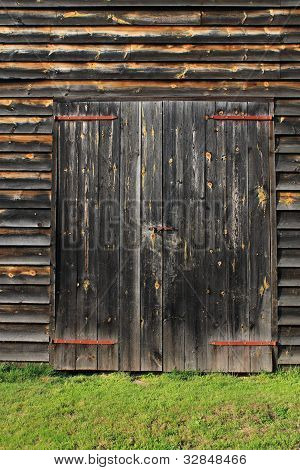 Barn Door Backgraound