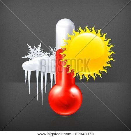 Weather icon, vector