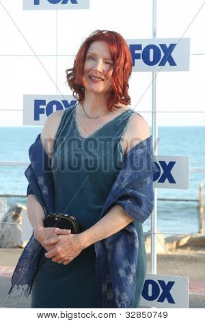 LOS ANGELES - AUG 5:  Frances Conroy arriving at the FOX TCA Summer 2011 Party at Gladstones on August 5, 2011 in Santa Monica, CA