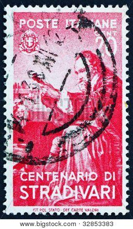 Briefmarke Italien 1937 Antonius Stradivarius, Gitarrenbauer