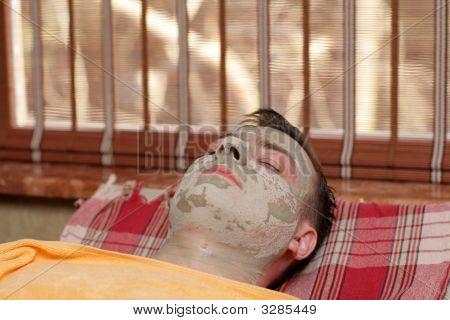Man Under Mask