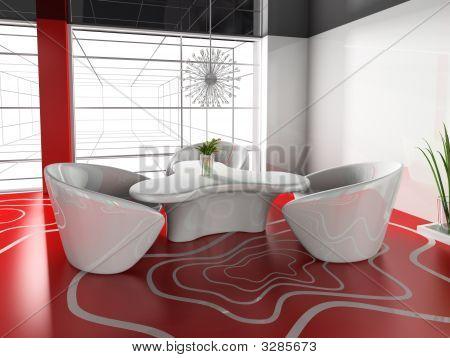 moderne Café