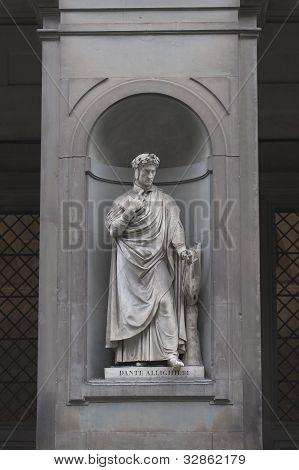 Dante Alighieri Statue