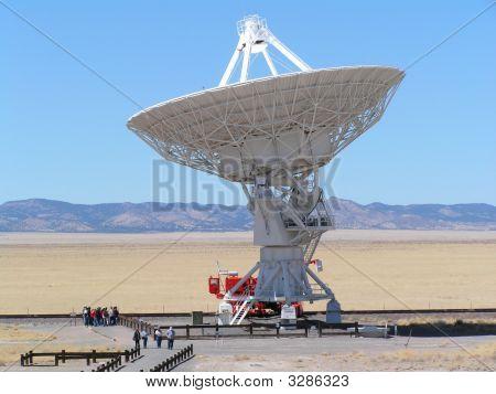 Radio Telescope In New Mexico