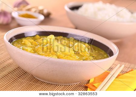 Chicken-Mango Curry