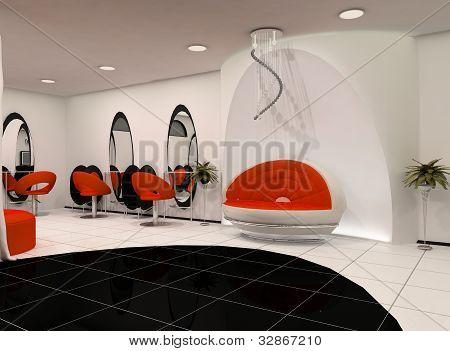 Outlook Of Luxury Beauty Salon