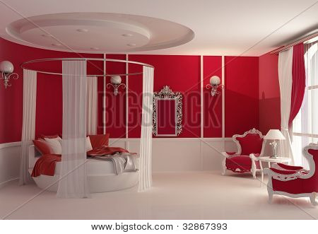 Furniture In Luxury Bedroom