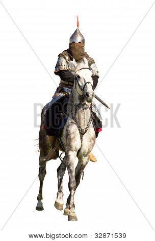 Horserider Isolated