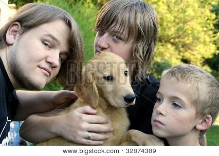 Three Brothers And New Golden