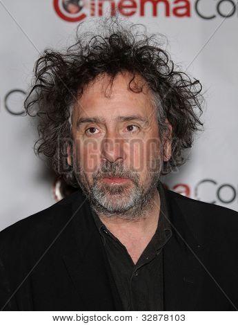 LAS VEGAS - APR 25:  TIM BURTON arrives for the Cinema Con 2012-Disney Luncheon  on April 25, 2012 in Las Vegas, NV
