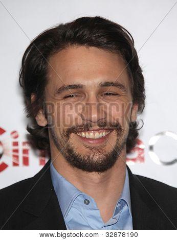 LAS VEGAS - APR 25:  JAMES FRANCO arrives for the Cinema Con 2012-Disney Luncheon  on April 25, 2012 in Las Vegas, NV