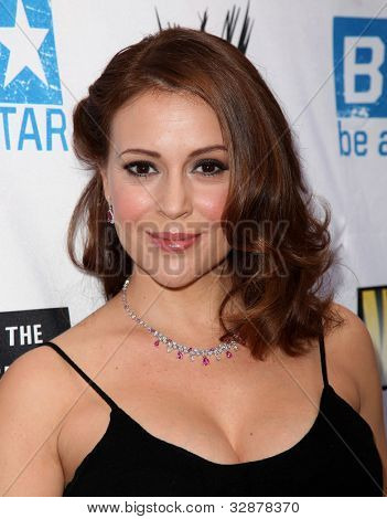 LOS ANGELES - APR 29:  Alyssa Milano arrives to the Anti-Bullying Alliance Launch  on April 29, 2010 in Washington D.C.
