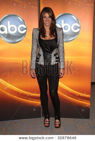 LOS ANGELES - MAY 15:  Missy Peregrym arrives to the ABC Disney May Press Junket  on May 14, 2011 in Glendale, CA