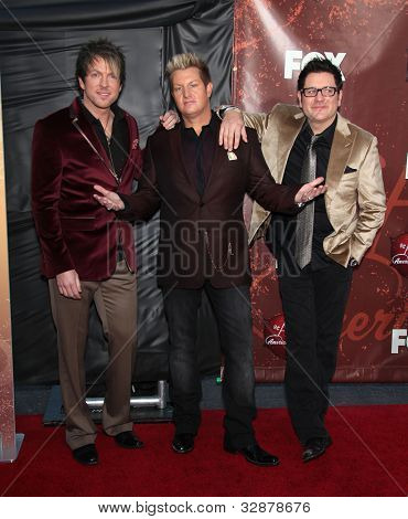 LOS ANGELES - OCT 06:  Rascal Flatts arrives to the American Country Awards 2010  on October 06, 2010 in Las Vegas, NV.