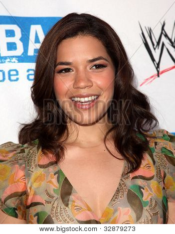 LOS ANGELES - APR 29:  America Ferrera arrives to the Anti-Bullying Alliance Launch  on April 29, 2010 in Washington D.C.