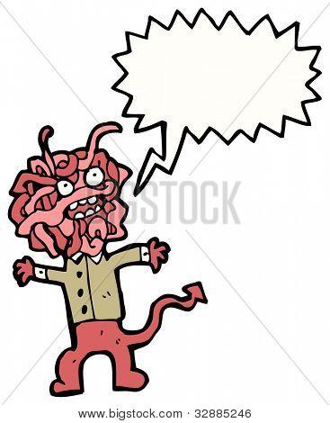 cartoon hideous monster cartoon