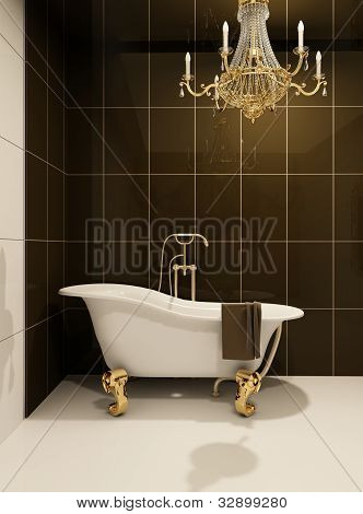 Luxury Bath In Bathroom