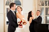 picture of wedding feast  - Bride - JPG