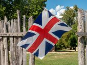 Historic Union Flag Or Jack From Historic Period Before Ireland Was Added. Could Be Used As Brexit I poster