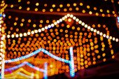 Abstract Background Of Diwali, Gold Bokeh Background, Diwali Lighting Background, Festival Lights, C poster