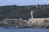 Phosphate Factory in Christmas Island
